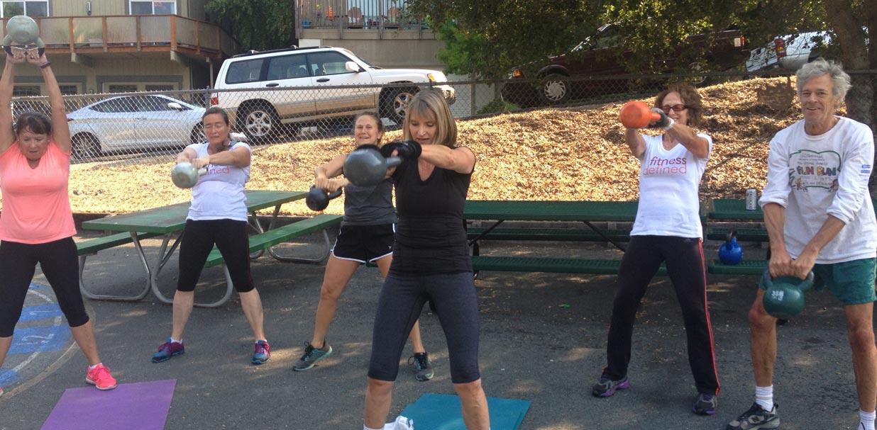 Boot Camp: Kettle Bell swings